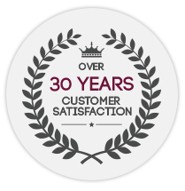 Over 30 Years Customer Satisfaction